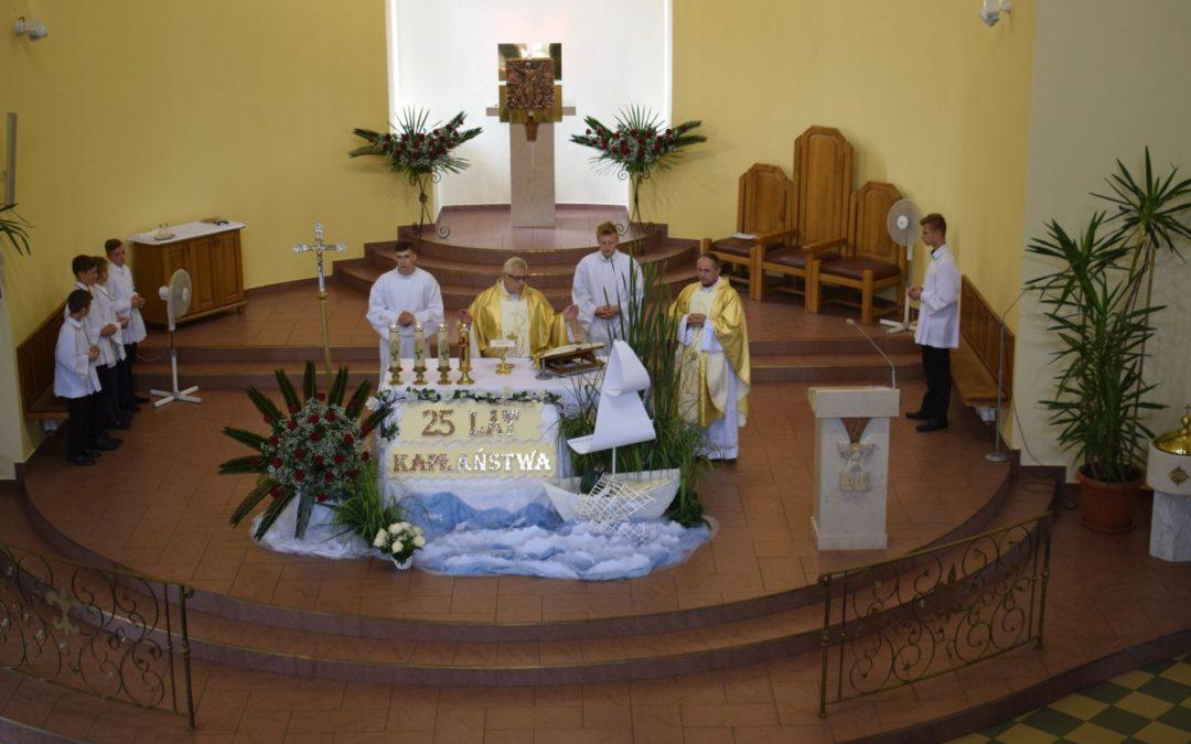 25-lecie święceń kapłańskich ks. Jacka